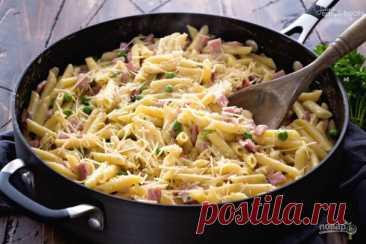 Вкусная паста - пошаговый рецепт с фото на Повар.ру