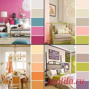 Как правильно сочетать цвета в отделке квартиры   Luxury House