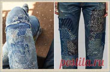 Буйство декора в джинсовых изделиях , или невероятное индиго — 55 коллажей и 160 волшебных примеров Как переделать и украсить джинсовые изделия? Как преобразить и дать новую жизнь... Читай дальше на сайте. Жми подробнее ➡