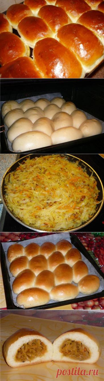 Очень вкусные и воздушные пирожки с капустой по старому бабушкиному рецепту - be1issimo.ru