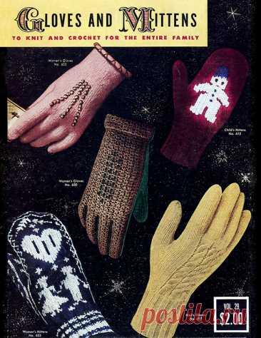 Перчатки и рукавицы |  Узоры Для Вязания
