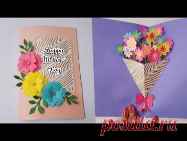 Handmade Mother's Day Pop-up Card | Craft Nifty Creations