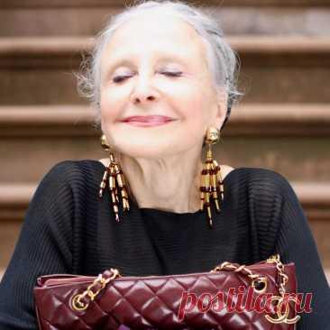 Однажды я встретила красивую пожилую женщину... -------------------------------------