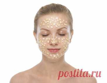 Овсяная маска для лица - фото нанесённых масок и демоснтрация результата