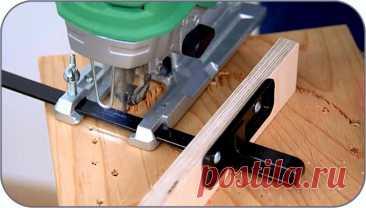 Как сделать простую циркульную насадку для электрического лобзика