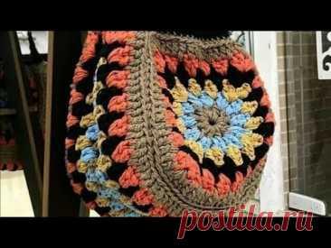 Cartera Tejida, Tutorial Completo,  Tejido, Crochet, Ganchillo