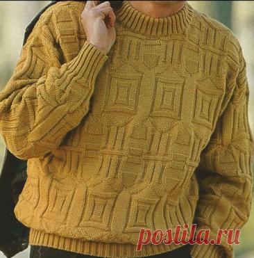 Для него. Вязание спицами   Марусино рукоделие   Яндекс Дзен