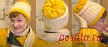 Переделка старой шапки в современную модель