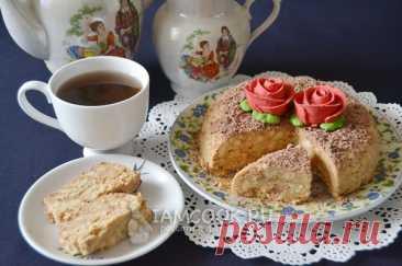 Торт из печенья и сгущенки — рецепт с фото пошагово + отзывы. Как приготовить торт из печенья, сгущенки и масла?