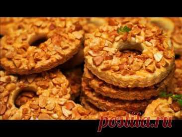 Тает во рту! 😍 ПЕСОЧНОЕ КОЛЬЦО с АРАХИСОМ | Вкусно ОЧЕНЬ Рецепт | Кулинарим с Таней