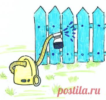 Использование бытового пылесоса на даче. | Для дачников.ру