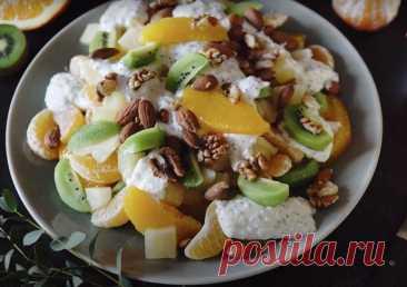 Фруктовый салат с киви и цитрусовыми