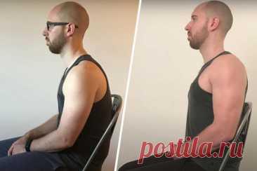 Упражнения для ровной спины. Как Брендон Джонс исправил осанку за 25 дней? - Чемпионат