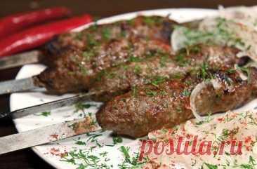 Сочный люля-кебаб из говядины на шампурах – вкуснее я не ела в жизни!