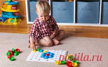 Формируем образное мышление ребенка: игра с мозаикой