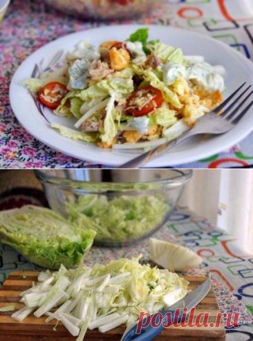 Цезарь с чесночным соусом по-русски, рецепт с фото пошагово | Вкусные кулинарные рецепты