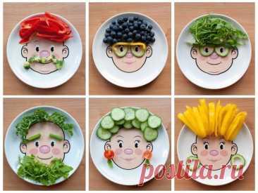 Как приучить ребенка к правильному питанию