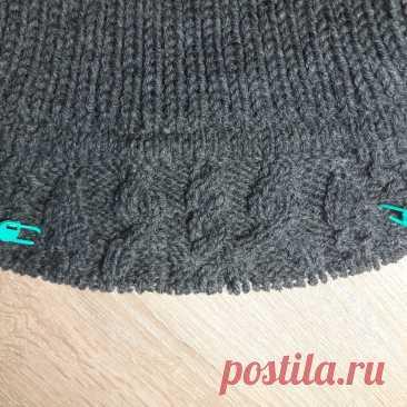 Мужской свитер спицами. Часть № 2 | SVG Вязание спицами и крючком | Яндекс Дзен