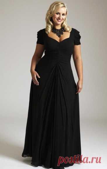 Как выбрать платье полной красавице - Образованная Сова