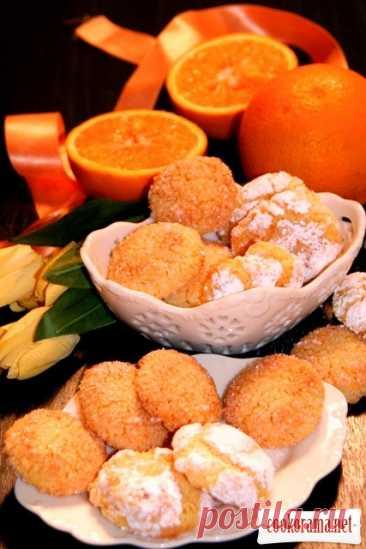 ღМиндально-апельсиновое печенье без муки