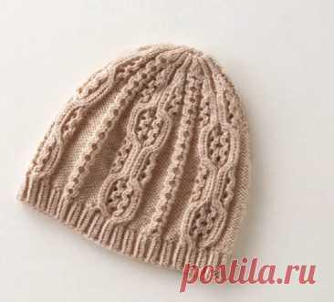 Вязаная шапка на весну от японского дизайнера Хитоми Шида   Рекомендательная система Пульс Mail.ru