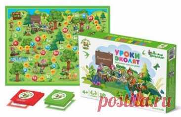 Настольная игра ходилка «Уроки Эколят»    Собери больше всех зелёных карточек. Дойди первым до финиша, совершая добрые поступки и помо...