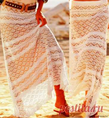 Женская юбка спицами, Вязание для женщин