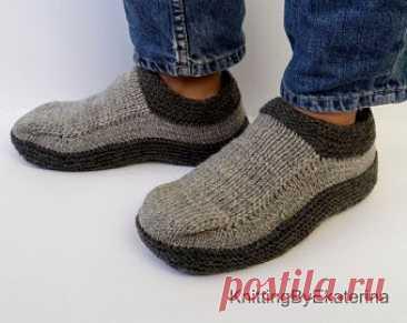 Трикотажные Moccasin носки Мужские трикотажные тапочки | Etsy