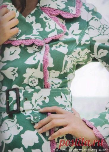 Вяжете крючком или спицами? Сделайте отделку своей летней одежды! Подборка интересных вариантов отделки. | Handmade для всех | Яндекс Дзен