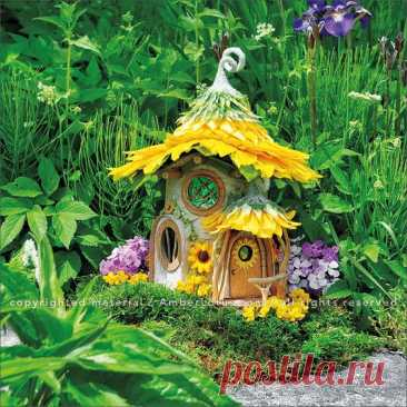 Fairy Houses 2017 Wall Calendar reveals a magical world of handcrafted castles and cottages, fanciful fairy retreats and sanctuaries, and habitable hobbit hideaways by Sally J. Smith. Click through to…