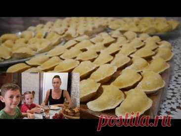 ВАРЕНИКИ С КАРТОШКОЙ|мой любимый рецепт|Тесто на пельмени и вареники - YouTube