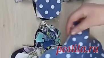 Простой вариант для шитья тапочек своими руками