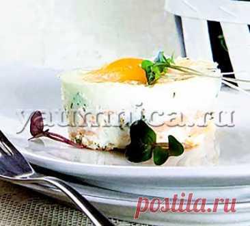 Закуска из яиц с лососем: рецепт, фото рецепт, пошаговый фото рецепт