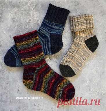 Сентябрь. Время готовиться к зимним праздникам и вязать теплые носки   WarmEngineer   Яндекс Дзен