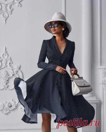 Модные весенние платья
