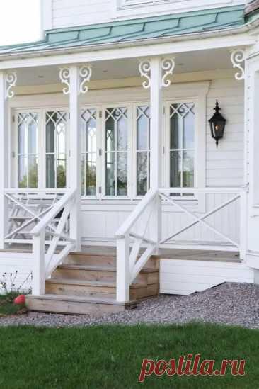 Особенности оформления крыльца для частного дома - Квартира, дом, дача - медиаплатформа МирТесен