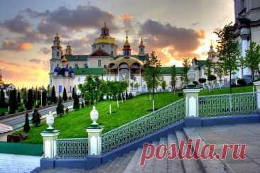 La laura Pochaevsky - una de las sagradas grandes del mundo ortodoxo