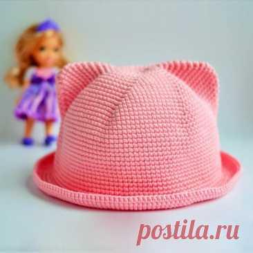Летние шляпы для малышей. Схемы и описания   Сашка-Вязашка   Яндекс Дзен