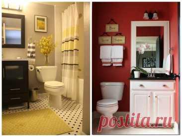 Эти 6 приемов помогут визуально увеличить даже самую маленькую ванную комнату