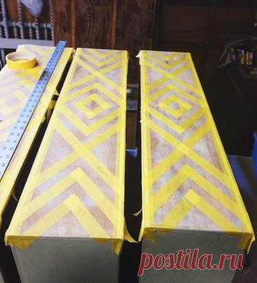 Идеи декоративной переделки - старых комодов!   Юлия Жданова   Яндекс Дзен