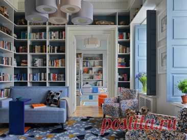 Потрясающая квартира для семьи с тройняшками | Роскошь и уют