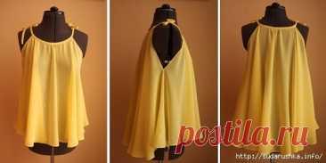 Блузка-солнце своими руками — Сделай сам, идеи для творчества - DIY Ideas