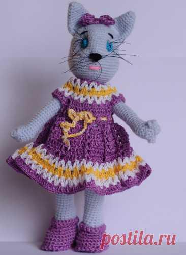 Купить мисс мяу ручной работы у мастера без наценок   DIY Рукоделие - Игрушки, куклы