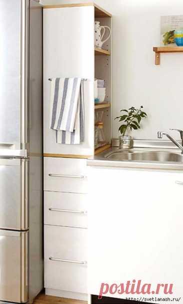 Использование места у холодильника — Pro ремонт