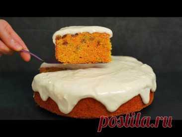 НОВЫЙ УРОВЕНЬ ВКУСА! ШИКАРНЫЙ пирог из самых простых продуктов! Морковный ПИРОГ со сметанным кремом