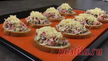 Горячие бутерброды в духовке | Сейчас Приготовим! | Пульс Mail.ru
