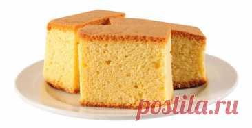 Как приготовить идеальный бисквит »