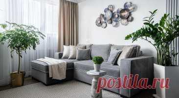 Угловой диван в интерьере (33 фото) Рассказываем, как выбрать и максимально удачно вписать угловой диван в интерьер гостиной любого размера.