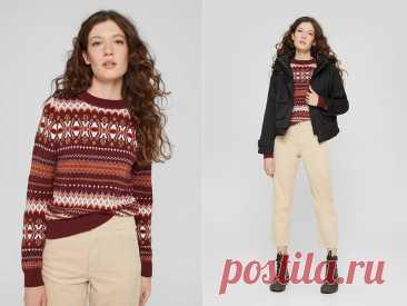 Яркие свитера для вашей стильной осени   SWJ