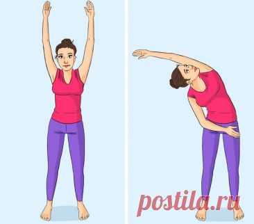 10+ упражнений на растяжку для категорически деревянных людей, после которых спина обязательно скажет: «Как хорошо-то, а!» | Диеты со всего света